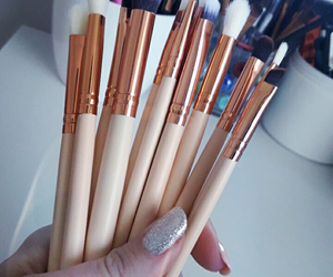 brush, Brushes, and nails image