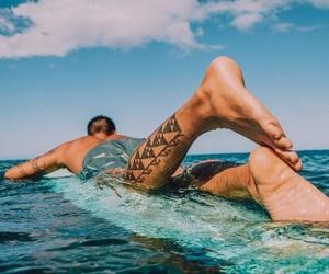 beach, ocean, and summervibes image