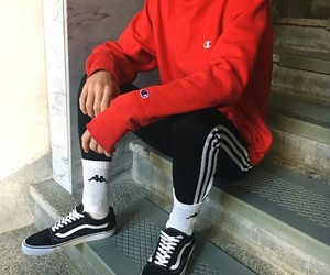 adidas, champion, and outfit image