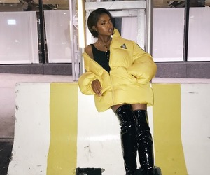 black women, yellow, and ryan destiny image