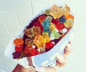 food and gummy bears image