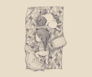 sleep and cute image