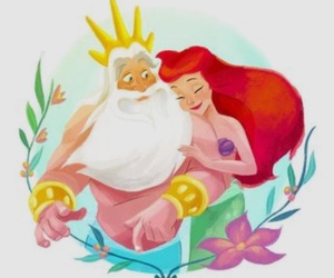 ariel, disney, and the little mermaid image