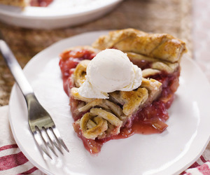 almond, food, and pie image