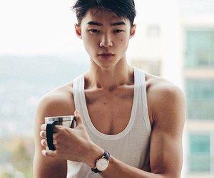 asian boy, model, and park yuri image