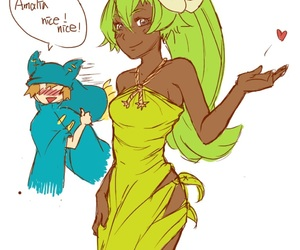 amalia, yugo, and wakfu image