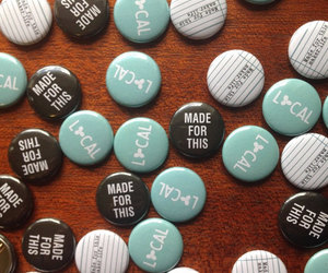 buttons, etsy, and handmade image