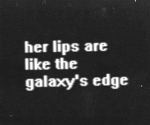 lips, galaxy, and arctic monkeys image