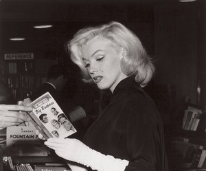 Marilyn Monroe, vintage, and woman image