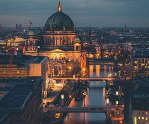 berlin, travel, and architecture image