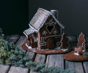 christmas, gingerbread, and xmas image