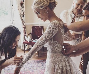 awesome, bridesmaids, and gown image