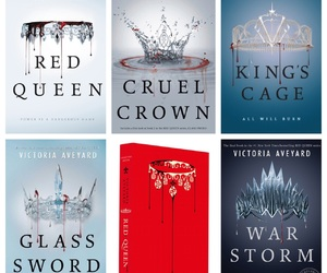 books, victoria aveyard, and red queen image