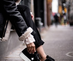 fashion, converse shoes, and looks image