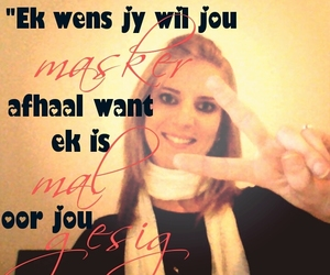 afrikaans, liefde, and life image