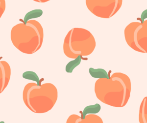 background, fruit, and peach image
