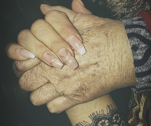 hands, years, and moment image