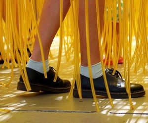 yellow, aesthetic, and legs image