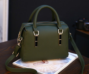 bags, green, and fashion image