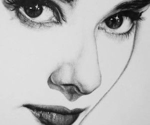 audrey hepburn, art, and drawing image