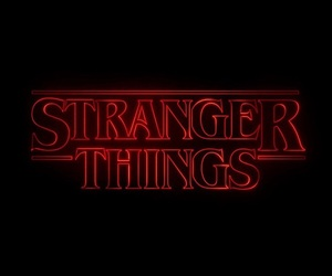 stranger things, netflix, and red image