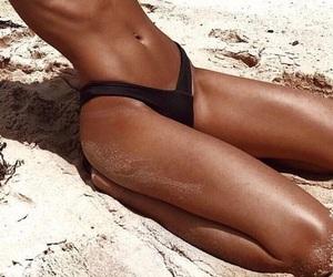 bikinis, tan, and body image