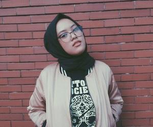 black, hijab, and girl image