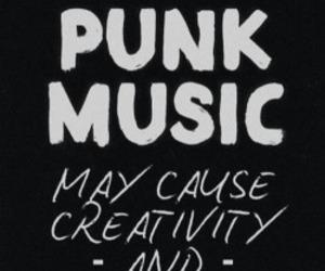 music, punk, and creativity image
