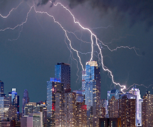 lightning safety, surge protection, and grounding rod image