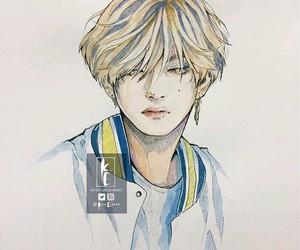 taehyung, fan art, and fanart image