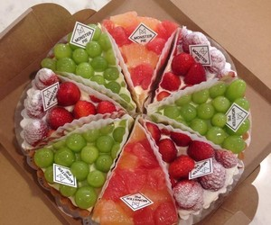 desert, grape, and sweets image