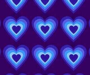 blue, blue background, and glow image