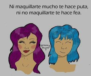 amor, Chica, and frases image