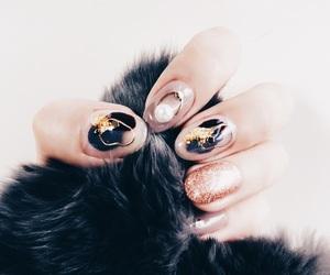nails, autumn, and fashion image