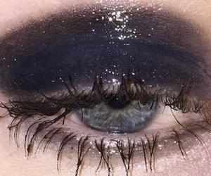 eyes, aesthetic, and black image