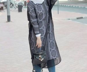 fall, ootd, and hijabista image