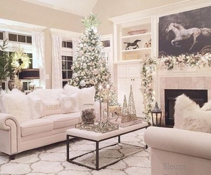 christmas, luxury, and white image