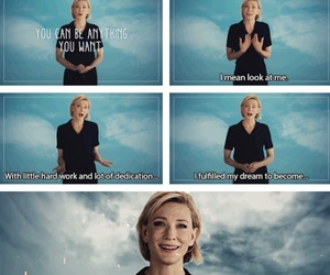 actress, cate blanchett, and dreams image