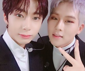 jooheon, monsta x, and hyungwon image
