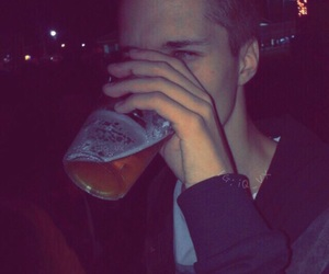 boy, drink, and tumblr image