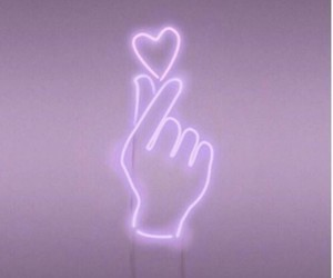 heart, aesthetic, and purple image