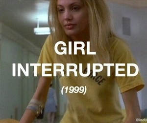 Angelina Jolie, girl interrupted, and movie image