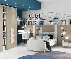 bedroom, design, and teenager image