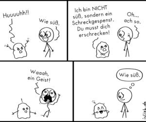 deutsch, comic, and süß image