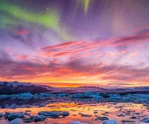 colours, sea, and snow image