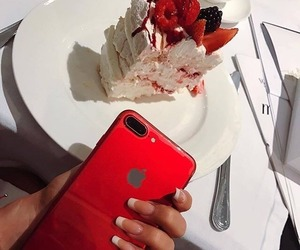 iphone, apple, and beautiful image