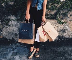 fashion, shopping, and Zara image
