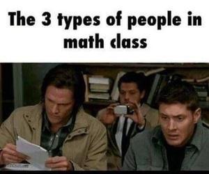 funny, supernatural, and math image