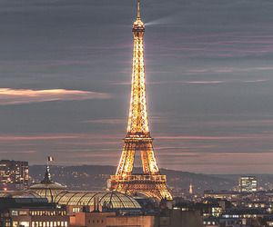 paris, city, and light image