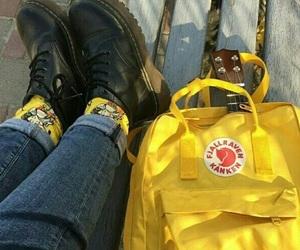 alternative, grunge, and yellow image
